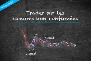 Trader sur des cassures non confirmées